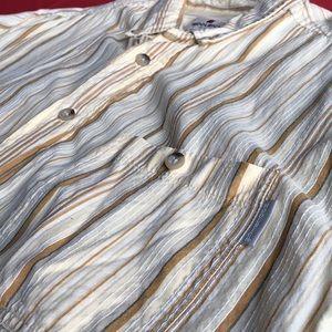 Woolrich Button Down Short Sleeve shirt Sz L